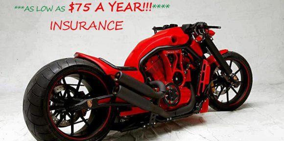 Red custom motorcycle
